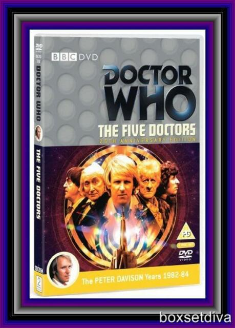 DOCTOR WHO - THE FIVE DOCTORS (25TH ANNIVERSARY EDITION) *BRAND NEW DVD*
