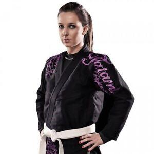 Tatami-Womens-Phonix-BJJ-Gi-Ladies-Black-Brazilian-Jiu-Jitu-Uniform-Female-Suit