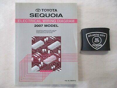 2007 TOYOTA SEQUOIA ELECTRICAL WIRING DIAGRAM MANUAL | eBay
