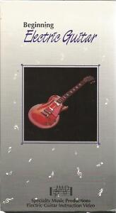 Distingué Beginning Electric Guitar [vhs Specialty Music Productions, 1992]