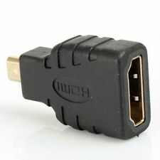 Gold Plated HDMI Female to Type D Micro HDMI Male Adapter Convertor v1.4
