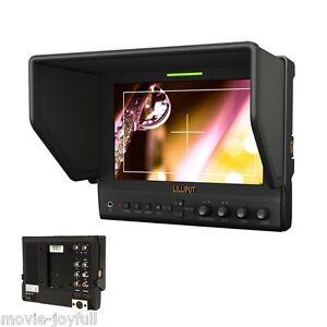Lilliput-7-034-663-S2-3G-HD-SDI-Monitor-1280-800-IPS-LED-monitor-Peaking-focus-amp-case