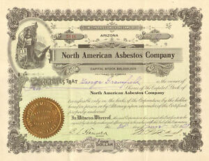 North-American-Asbestos-Company-gt-1909-Arizona-stock-certificate