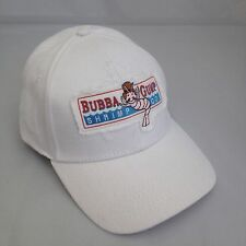 Bubba Gump Shrimp Embroidered Baseball Cap, Hat White.
