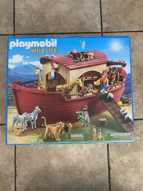 Playmobil #9373 Noah's Ark - New Factory Sealed SHIPS FAST