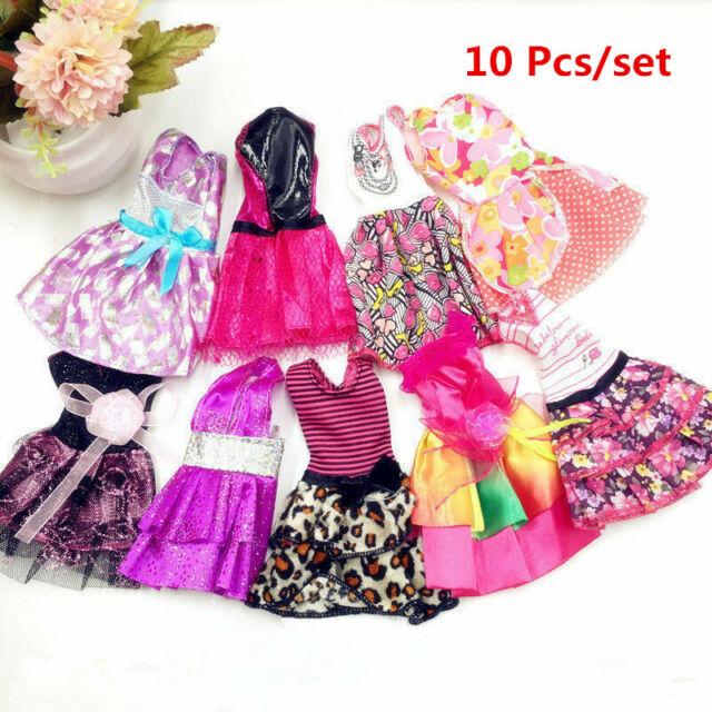 10Pcs Fashion Beautiful Handmade Dresses Clothes For 11