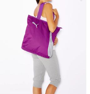 Details about Rare Light Purple! silver Puma Fundamentals Shopper Damen  Shopping Bag Xmas Gift