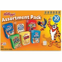 Kellogg's Breakfast Cereal Mini Boxes Assorted 2.39 Oz Box 30/carton 14746 on sale