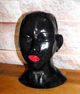 Latexmaske Kopf Voll-Maske anatomisch mit Mundauskleidung