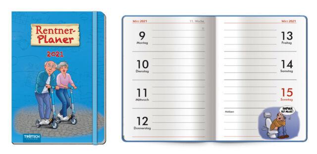 Calendrier Des Retraites 2021 Calendrier Taschenkalender Minuterie Planer A6 2021 Retraités