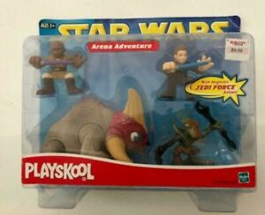 Star-wars-PLAYSKOOL-JEDI-FORCE-Arena-aventure-Mace-Windu-Anakin-Skywalker-senteur