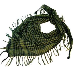 Halstuch-Schal-Tuch-Kopftuch-Fransen-Pali-Tuch-Arafat-Shemag-PLO-Damen-Herren
