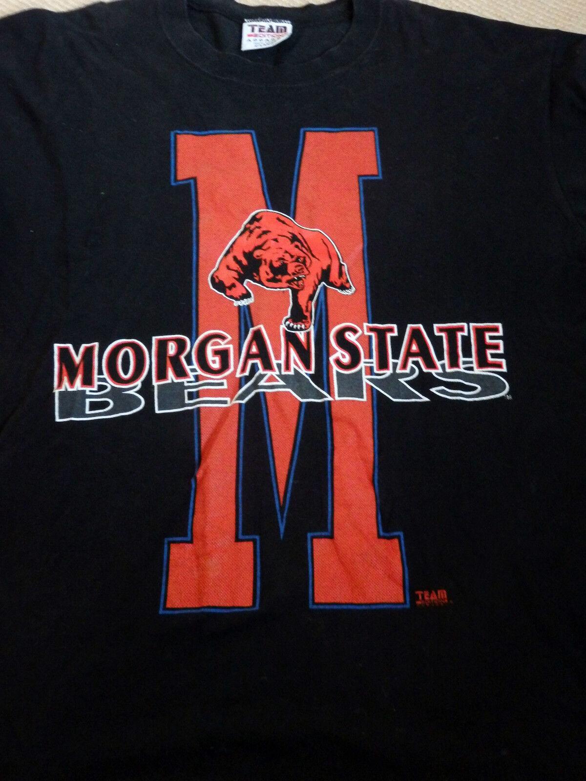 Original US-College T-Shirt Morgan State schwarz  XXL