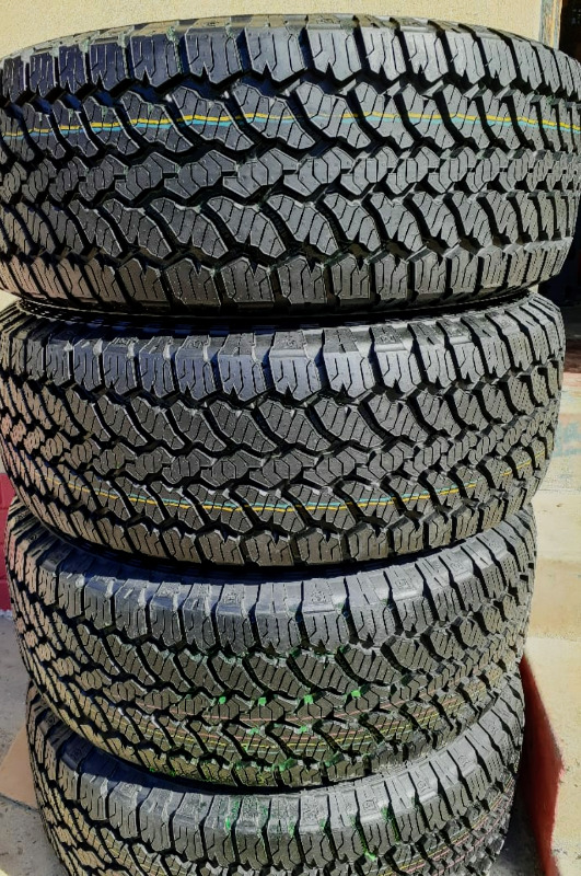 """18""""GENERAL GRABBER TYRES 255/60R18 AT3 NEW X4"""
