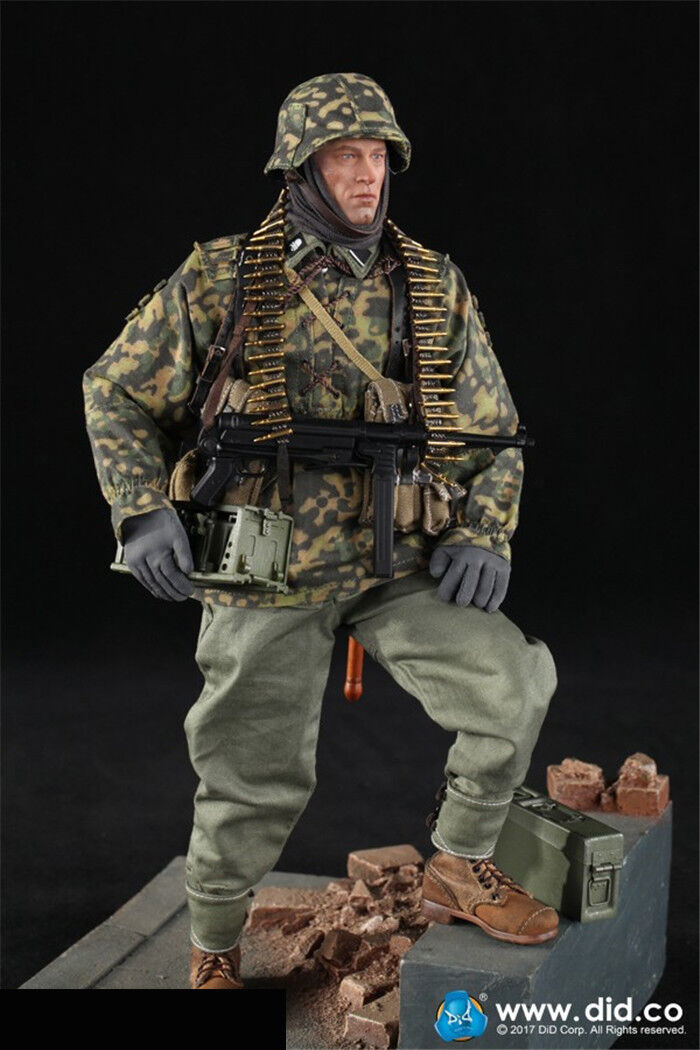 DID 1 6th D80125 3RD 3RD 3RD SS Panzer Division MG34 Gunner Ver.B Figure Collection de9e67
