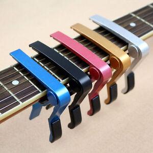 Pince-GUITARE-Clip-Capodastre-CAPO-Acoustique-Trigger-Bass-Folk-Classique