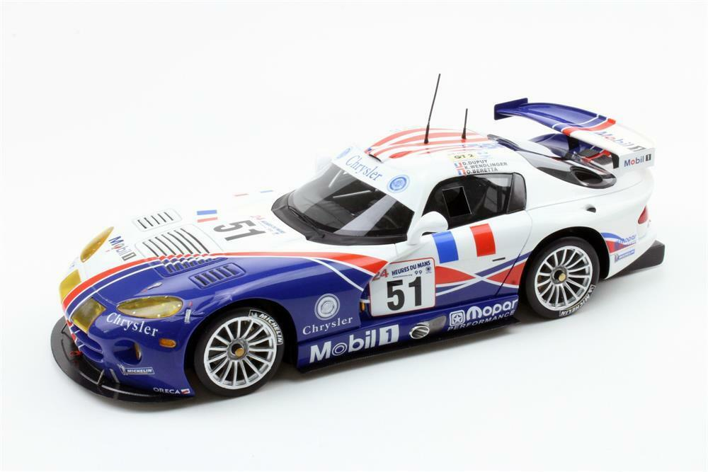 Dodge Viper GTS-R Oreca 1999 Le Mans ganador en escala 1 18 por Top Marques