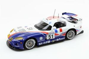 Dodge Viper Gts-r Oreca 1999 Le Mans Gagnant En 1:18 Echelle Par Top Marques