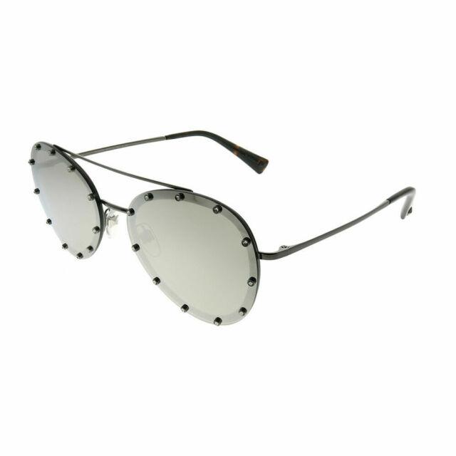 Sunglasses Valentino VA 2013 Ruthenium//Grey Mirrored 3005//6G