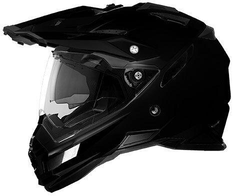 Oneal 2016 Sierra Dual Sport Helmet - Dakar Adventure Gloss Black Adult