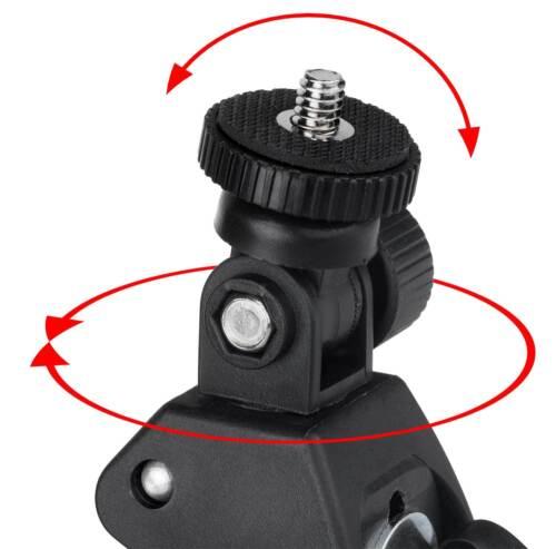 Tubo de bicicleta borna soporte manillar soporte marco f Tchibo Actioncam Full HD
