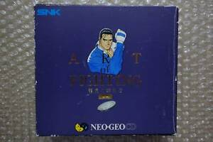 Art-of-Fighting-3-Limited-box-034-Good-Condition-034-Neo-Geo-CD-SNK-Japan-Import