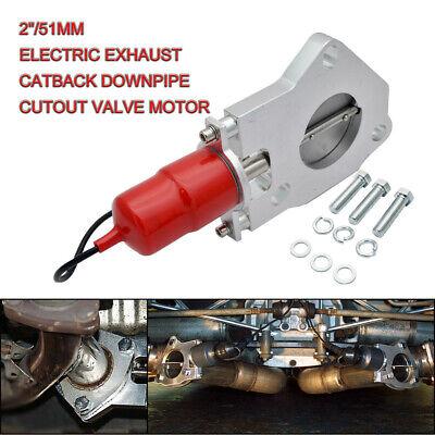 Maso 5,7 cm 57 mm elettrico valvola di controllo remoto sistema di scarico marmitta E-Cut out ritaglio