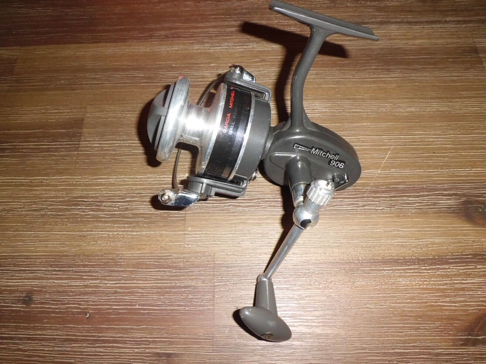 Vintage Garcia Mitchell 906 High Speed Spinning Reel Made in France-A voir