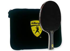 intermédiaire TABLE TENNIS BAT5 Killerspin Jet Black ping pong raquette Combo