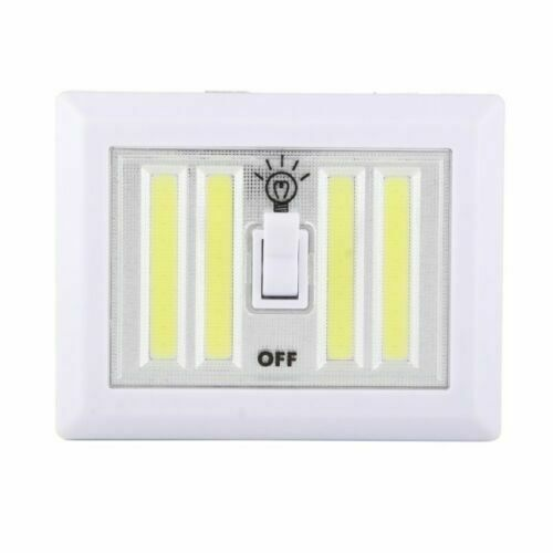 Y-Tech Bright LED Wireless Battery Switch Night Light Cordless Cob Magnetic
