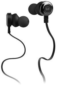 Monster Clarity HD Black In Ear Earbud Headphones with Microphone