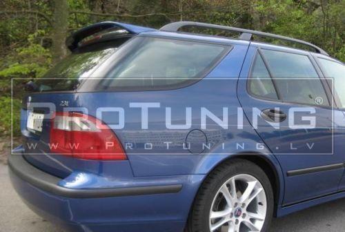 For Saab 9-5 ROOF Door SPOILER Variant Estate TAILGATE Cover WING trim trunk