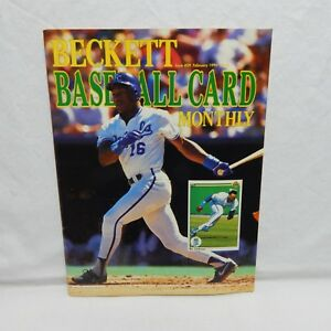 Details About Bo Jackson Cover Beckett Baseball Card Price Guide Feb 1990 Issue 59 26