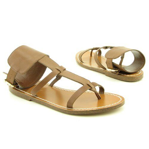BCBGirls Porto Chestnut Marronee donna donna donna Sandals Leather Dimensione 7.5 34d47d