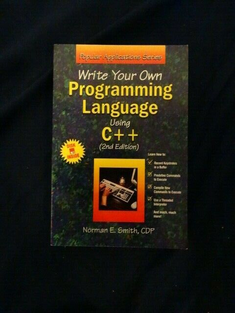 Popular Applications: Write Your Own Programming Language Using C++ by Norman...