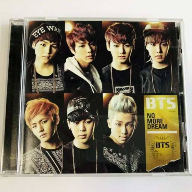 Bts No More Dream Japanese Ver Cd Free Shipping For Sale Online
