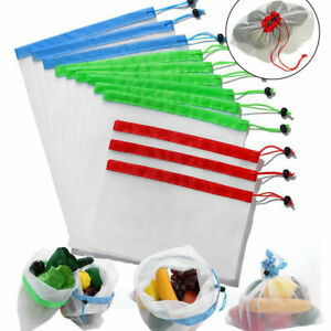 5-Packs-Reusable-Produce-Bags-Black-Rope-Mesh-Vegetable-Fruit-Toys-Storage-Pouch