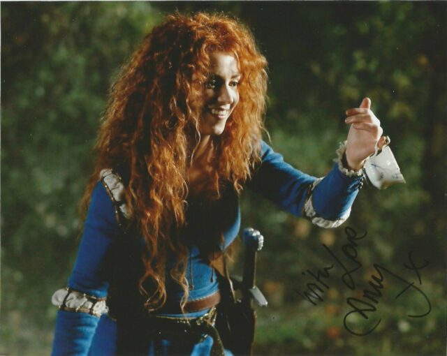 Amy Manson Once Upon A Time Autographed Signed 8x10 Photo COA #2