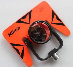 NEW-RED-NIKON-SINGLE-PRISM-WITH-SOFT-BAG-FOR-NIKON-TOTAL-STATION-STATIONS