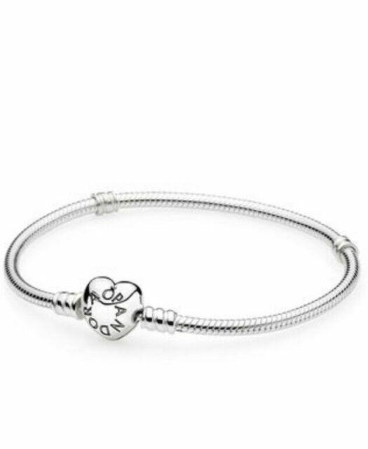 PANDORA 590719-21 Silver Charm Bracelet