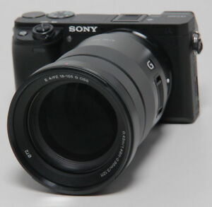 Sony-Alpha-a6300-Sony-18-105-mm-SELP-18105-G-E-Mount-Systeme-Camera-24-megapixels