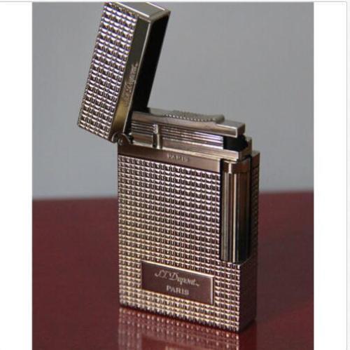 S T Dupont Memorial lighter Bright Sound Silver lighter