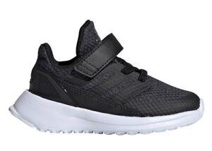 Adidas-RAPIDARUN-EL-I-G27327-Nero-Scarpe-Donna-Bambini-da-Ginnastica