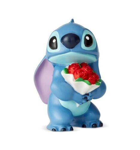 Stitch bouquet de roses Disney Traditions Lilo et Stich 6cm