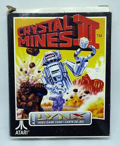 Crystal-Mines-II-2-boxed-Atari-Lynx-1991-PA2205-NEU-NEW