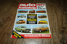 Auto Katalog 1977