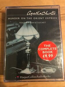 Murder-on-the-Orient-Express-Agatha-Christie-Audio-Book-Cassette-Tape-NEW-SEALED