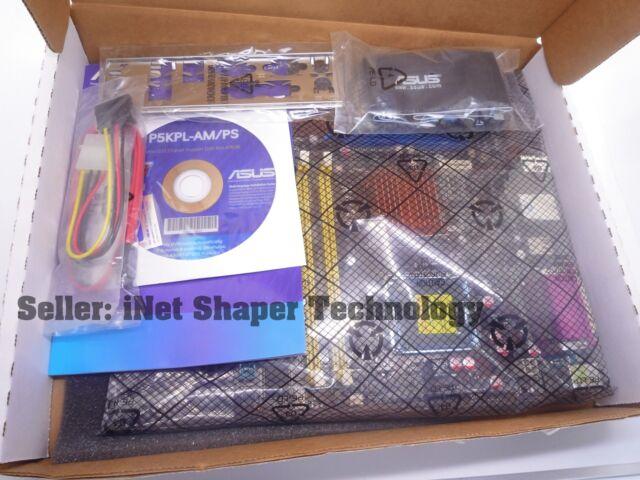 Asus P5kpl Ps  Lga775 Socket  Intel Motherboard