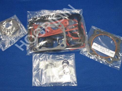 "84-91 Harley Davidson  3 5//8/"" bore top end gasket kit softail dyna touring"