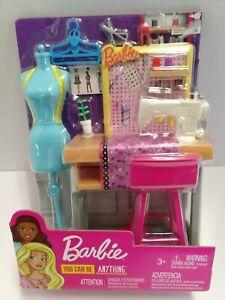 Barbie Fashion Designer Studio Seamstress Play Set You Can Be Anything Ebay